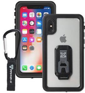 iPhone X / iPhone XS Armor-X MX-IPHX-BK Vanntett Mobilpose - Svart