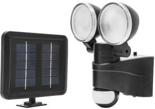 Ledsavers Solcelledrevet LED-lyskaster 500 lm