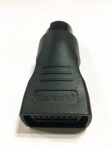 Mercedes MB 38 pin kontakt til iCarsoft OBD2