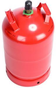 Propanflaske med gass stål 11 kg