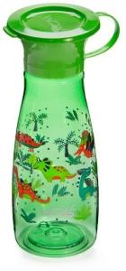 Wow Cup Mini - Green Dinos Wow Cup Mini - Lekkasjefri drikkekop i Tritan med 360° drikkekant