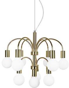 Globen Lighting Pendel Grace Messing