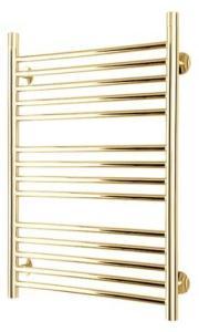 TVS Top håndkletørker, vannbåren varme,  578x532 mm, gull