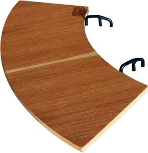 Espegard Sidebord i eik 60 cm bord til bålpanne/ fyrfat 2 stk