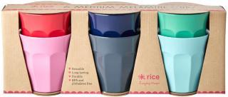 Rice Kopp Melamin Mellan Believe in Red Lipstick 6-pack