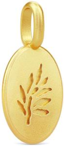 Julie Sandlau Classic Pendant - Gold Halskjede Anheng Gull Julie Sandlau Women