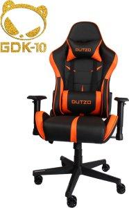 DUTZO E-Sport - Black/Orange Gamingstol - Svart/Oransje - PU-lær - Opptil 120 kg ESPORT1-BO