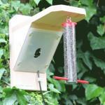 Fuglemater med kamera Sett med HR fargekamera