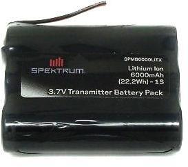 Spektrum 3,7V 1s 6000mAh Li-Ion Senderbatteri iX12