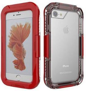 iPhone 7/8/SE (2020) Vanntett Mobilpose - Rød