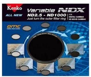 Kenko ND-filter ND2,5-ND1000 variabelt NDX 77mm