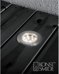 Konstsmide Terrassespot tillegg LED 3 varmh. spot m/kabel til 7721771 7761792 Bakkebelysning