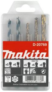 Borsett Makita 5/6/8 mm 5 stk