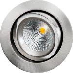 GYRO DimToWarm 6W LED 2000-2800K, Børstet Stål Sg Armaturen A/S