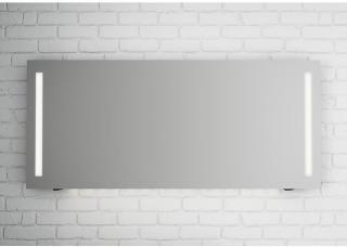 Linn Bad Fosse speil m/LED-lys 160x70 cm, med dimmer og stikkontakt