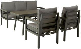 Trenton sofagruppe mørk grå