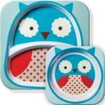 Skip Hop Zoo Plates Owl