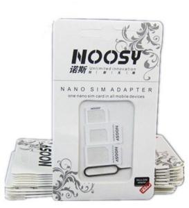 NOOSY 4-1 NANO SIM CARD ADAPTOR.
