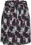 SAINT TROPEZ Woven Skirt Above Knee Kort Skjørt Svart SAINT TROPEZ Women