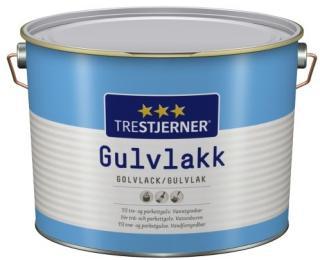 TRESTJERNER TRESTJERNER GULVLAKK. TIL LAKKERING AV TRE- OG PARKETTGULV