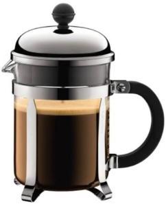 BODUM CHAMBORD Coffee maker - 4 cups - black 1924-16TR-10