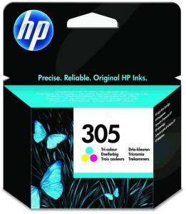 HP Blekkpatron Farge 305 (100 sider) 3YM60AE (Kan sendes i brev)