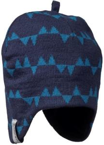 Isbjörn of Sweden Eaglet Knitted Cap, Denim, 48/50