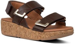 Brown Remi Adjustable Slides Sandaler  Fitflop  Sandaler - Sko Til Dame