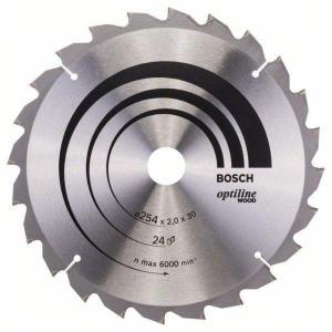 Sagblad for tre Bosch SPEEDLINE WOOD Ø254 mm