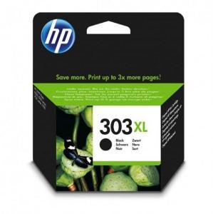 HP Blekkpatron No.303XL Sort Høykapasitet (12ml) T6N04AE (Kan sendes i brev)
