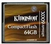 Kingston CF 64GB HighSpeed 600x