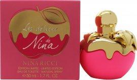 Nina Ricci Les Delices de Nina Eau de Toilette 50ml Spray