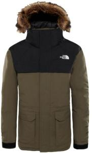The North Face Boy's McMurdo Parka, New Taupe Green, M