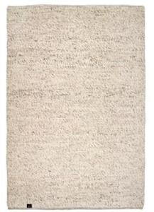 Classic collection Merino teppe - Natural beige, 140x200