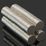 Kjøleskap Magneter 10mm x 2mm 100 stk Runde Supersterke magneter