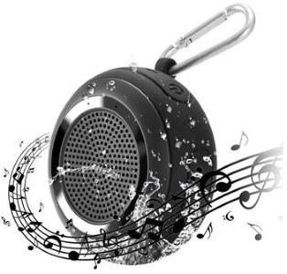 Tronsmart Splash Bærbar Vanntett Bluetooth-høyttaler - Svart