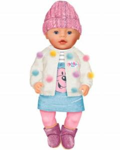 Baby Born Dukke Soft Touch Jeans Edition 43 cm