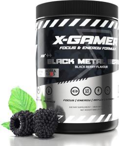 X-GAMER X-Tubz Black Metal Berry 600g (XG-XTU-4.0-Metal-1-A)