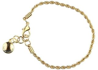Snö Of Sweden Hege Single Bracelet Plain Gold
