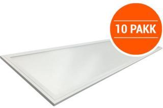 Namron LED Panel 1200x300 40W 4000K 10PK 89997 Taklampe / Vegglampe
