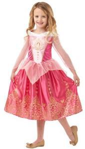 Disney Princess Törnrosa Klänning Maskeraddräkt Barn Inget (Storm)