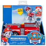 Paw Patrol Basic Vehicle With Pup, Marshalls Transforming Fire Engine
