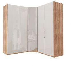 Garderobe Hjørne Atlanta 100cm + hjørne + 100cm