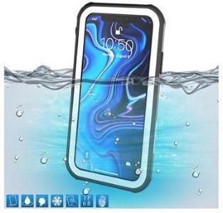 Active Series IP68 iPhone XR Vanntett Mobilpose - Hvit / Svart
