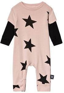 NUNUNU Star One-Piece Powder Pink 0-6 mnd