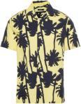 J.LINDEBERG David Seasonal Print Skjorte Men Yellow Butter Yellow S