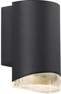 Namron Moby vegglampe enkel GU10 sort 3234663 Taklampe / Vegglampe
