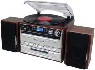 Soundmaster Stereo CD/Vinyl/Tape/Bluetooth Unisex