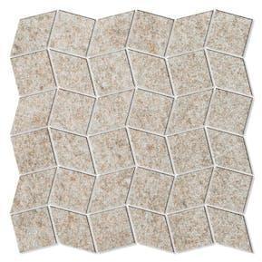 Dekor Fidenza Hill Ceramic Beige 30x30 cm Halvpolert