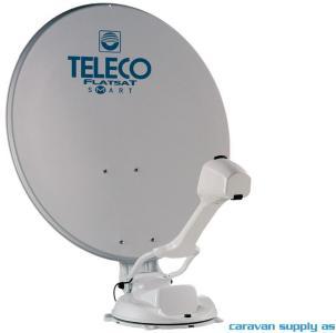 Parabolantenne Teleco FlatSat Easy Skew Smart 85cm helautoma